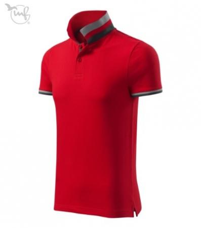Tricou Polo pentru barbati Collar Up rosu [1]