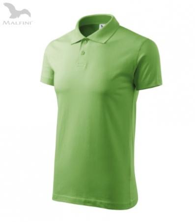 Tricou polo pentru barbati Single J, verde [1]