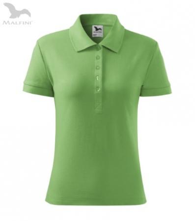 Tricou polo pentru damă Cotton, verde [1]