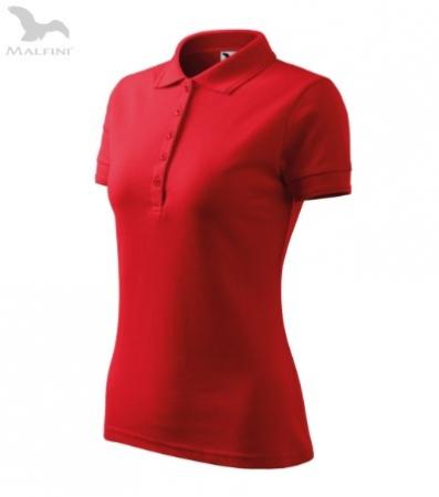 Tricou polo pentru damă Picq, rosu [1]