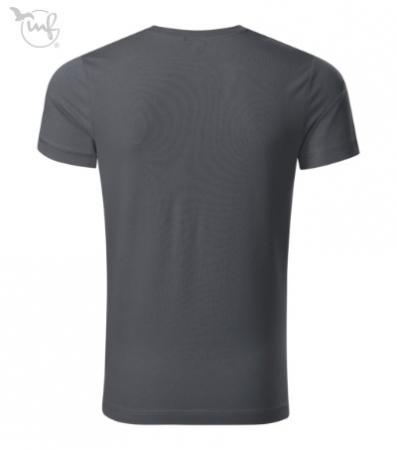 Tricou pentru barbati Action, culoare gri antracit [2]