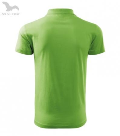 Tricou polo pentru barbati Single J, verde [2]
