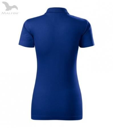 Tricou polo de dama, Single J, albastru regal [2]