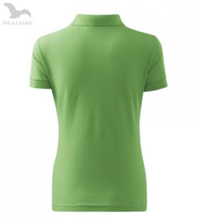 Tricou polo pentru damă Cotton, verde [2]