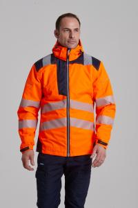 Jacheta reflectorizanta pentru sezon rece Vision portocalie1