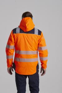 Jacheta reflectorizanta pentru sezon rece Vision portocalie2