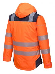 Jacheta reflectorizanta pentru sezon rece Vision portocalie3