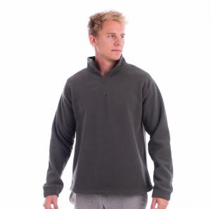 Bluza pentru barbati Horizon, material  fleece, nuanta gri1
