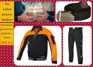 Set cadou Costum protectie + curea Black0