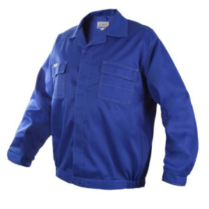 Costum de lucru Artmas blue, pantaloni cu pieptar si jacheta [2]