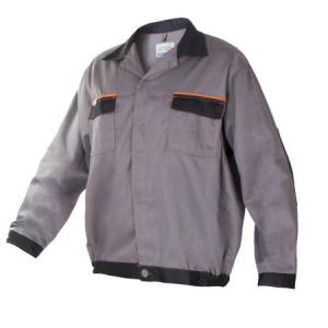 Costum protectie Artmas, jacheta si pantaloni cu pieptar, gri1