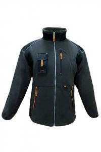 Jacheta calduroasa din fleece, Classic, inchidere cu fermoar1
