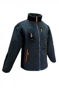 Jacheta calduroasa din fleece, Classic, inchidere cu fermoar2