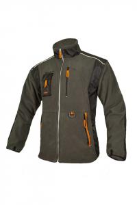 Jacheta calduroasa din fleece, Classic, inchidere cu fermoar0