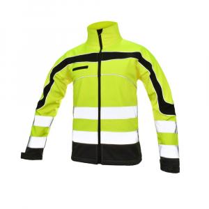 Jacheta reflectorizanta din softshell  Softflex, impermeabilitate ridicata0