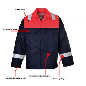 Jacheta de lucru cu protectie ignifuga BIZ FLAME0