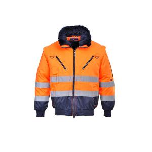Jacheta sezon rece PJ50 Orange, elemente reflectorizante0