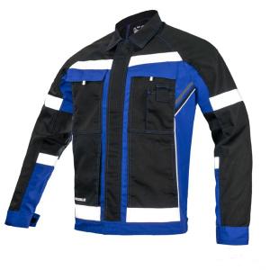 Jacheta de lucru  RefBlue, insertii reflectorizante0
