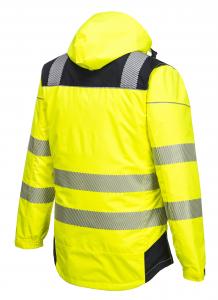 Jacheta reflectorizanta pentru sezon rece Vision galbena3