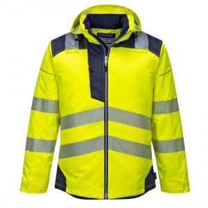 Jacheta reflectorizanta pentru sezon rece Vision galbena0