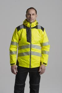 Jacheta reflectorizanta pentru sezon rece Vision galbena5