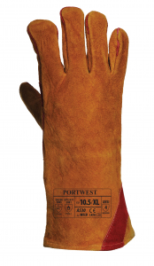 Manusi pentru sudori Portwest, din piele de bovina, marimea XL1