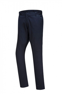 Pantaloni barbati, office-casual, Chino Slim, nuanta navy [1]