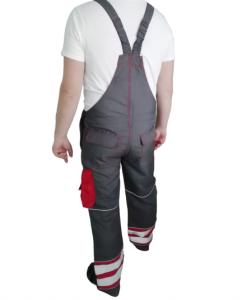 Pantaloni cu pieptar Portwest,W7357, protectie antistatica1