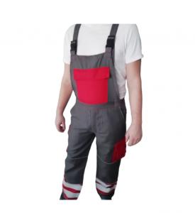 Pantaloni cu pieptar Portwest,W7357, protectie antistatica2