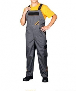 Pantaloni cu pieptar Professional, tesatura rezistenta, 6 buzunare3