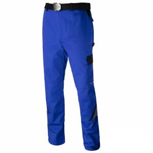 Pantaloni pentru lucru Professional blue, tesatura rezistenta, 7 buzunare0