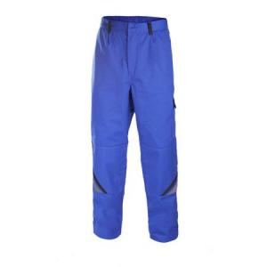 Pantaloni pentru lucru Professional blue, tesatura rezistenta, 7 buzunare1