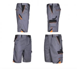 Pantaloni scurti de lucru Professional, material tercot, rezistenta la rupere2