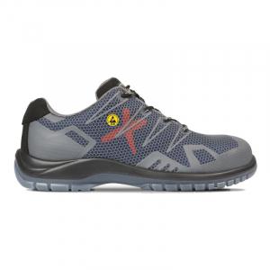 Pantofi de protectie cu bombeu metalic Eros0