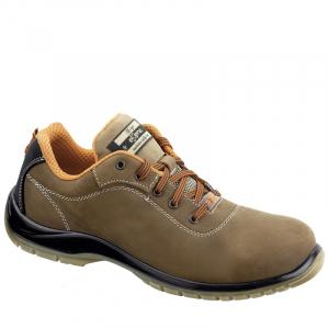 Pantofi din piele naturala cu bombeu metalic Gea1