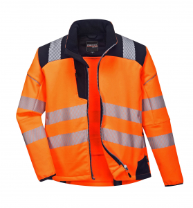 Jacheta reflectorizanta din softshell Vision Orange 4020
