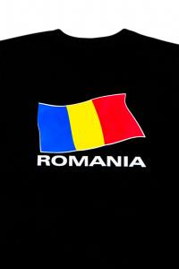 Tricou imprimat Drapelul Romaniei1