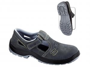 Sandale de lucru din piele naturala Bracciano, clasa de protectie S1P1