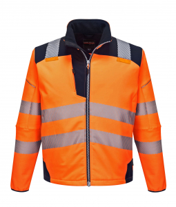 Jacheta reflectorizanta din softshell Vision Orange 4021