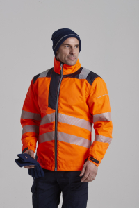 Jacheta reflectorizanta din softshell Vision Orange 4025