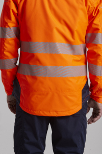 Jacheta reflectorizanta din softshell Vision Orange 4026