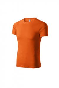 Tricou pentru barbati Piccolio Paint, nuanta portocaliu0