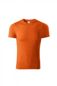Tricou pentru barbati Piccolio Paint, nuanta portocaliu1