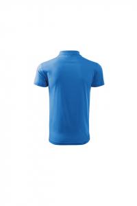 Tricou polo pentru barbati Single J, albastru marin1