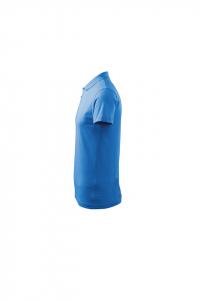 Tricou polo pentru barbati Single J, albastru marin2