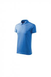 Tricou polo pentru barbati Single J, albastru marin3