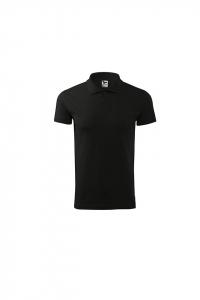 Tricou polo pentru barbati Single J, nuanta black0