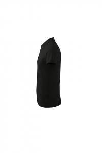 Tricou polo pentru barbati Single J, nuanta black3