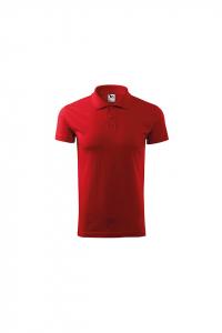 Tricou polo pentru barbati Single J, rosu0