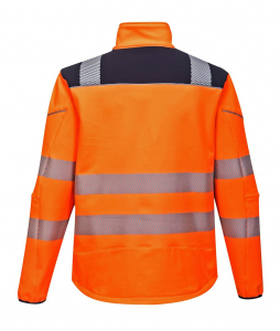 Jacheta reflectorizanta din softshell Vision Orange 4023